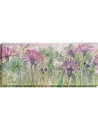 Catherine Stephenson - Thistle and Clover Canvas Print, 135 x 60cm