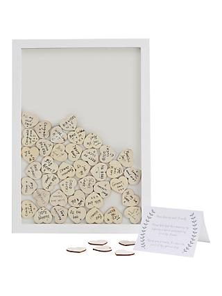 Ginger Ray Wooden Frame Wedding Guest Book