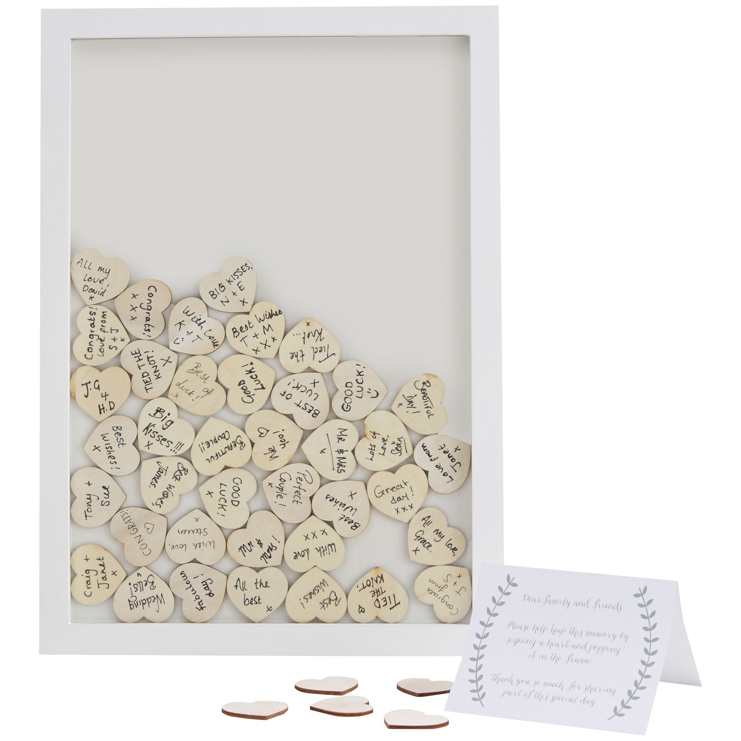 Ginger Ray Ginger Ray Wooden Frame Wedding Guest Book