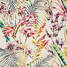Buy Harlequin Paradise Furnishing Fabric, Papaya Online at johnlewis.com
