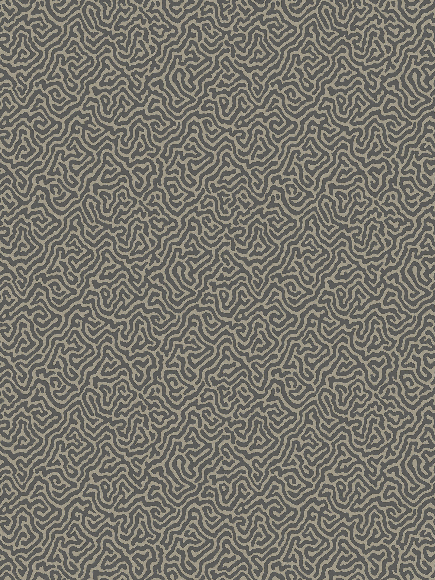 Buy Cole & Son Vermicelli Wallpaper, Grey / Black 107/4017 Online at johnlewis.com