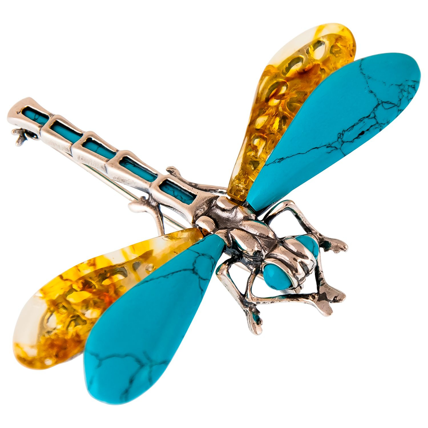 Be-Jewelled Be-Jewelled Dragonfly Brooch