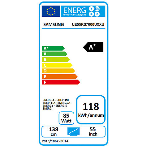 samsung ue55ks7000. buy samsung ue55ks7000 suhd hdr 1,000 4k ultra hd quantum dot smart tv, 55\u201d ue55ks7000