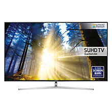 "Buy Samsung UE75KS8000 SUHD HDR 1,000 4K Ultra HD Quantum Dot Smart TV, 75"" with Freeview HD & 360° Design, UHD Premium Online at johnlewis.com"