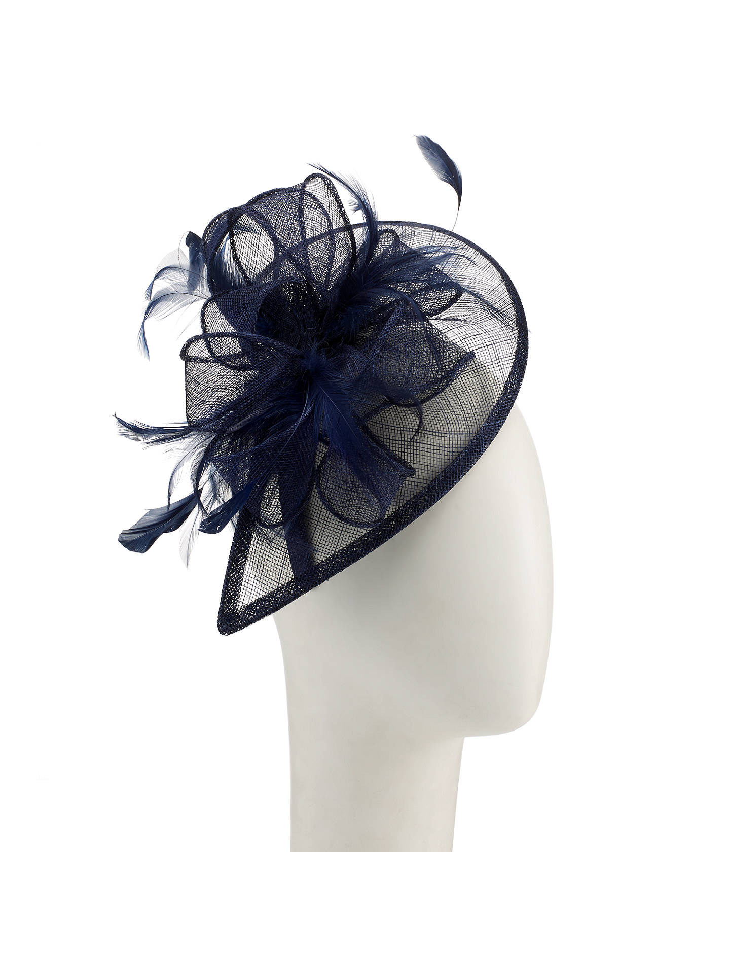 BuyJohn Lewis Teardrop Fascinator, Navy Online at johnlewis.com