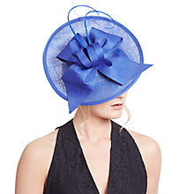 Buy John Lewis Zara Upturn Disc Occasion Hat, Cobalt Online at johnlewis.com