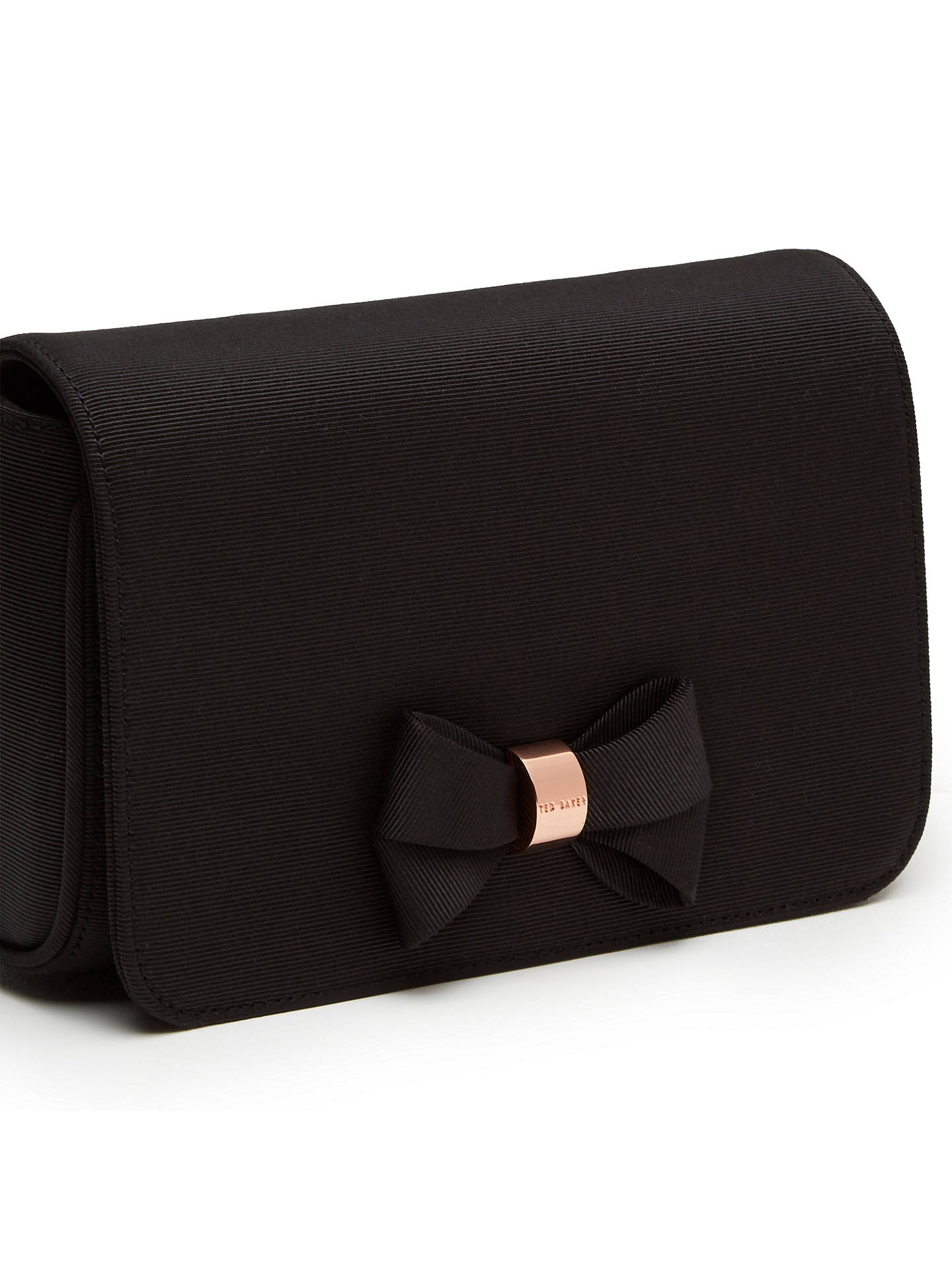3f03c783d8766 Ted Baker Brandii Bow Clutch Bag at John Lewis   Partners