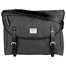 Buy Sandqvist Erik Messenger Bag, Grey Online at johnlewis.com
