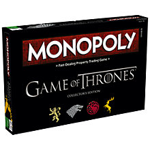 Buy Monopoly Game Of Thrones Edition Online at johnlewis.com