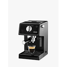Buy De'Longhi ECP Espresso Coffee Maker, Black Online at johnlewis.com