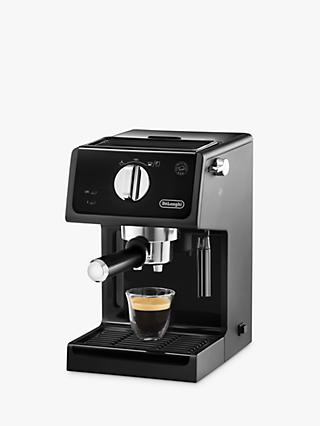De'Longhi ECP Espresso Coffee Maker, Black