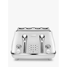 Buy De'Longhi Elements 4-Slot Toaster Online at johnlewis.com