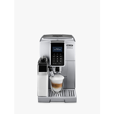 De'Longhi ECAM350.75.SB Dinamica Bean-to-Cup Coffee Machine, Silver