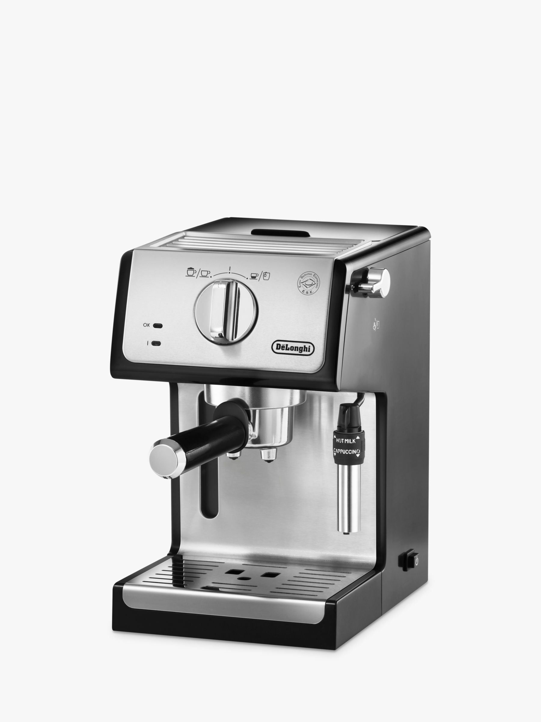 Delonghi De'Longhi ECP35.31 Espresso Coffee Maker, Chrome