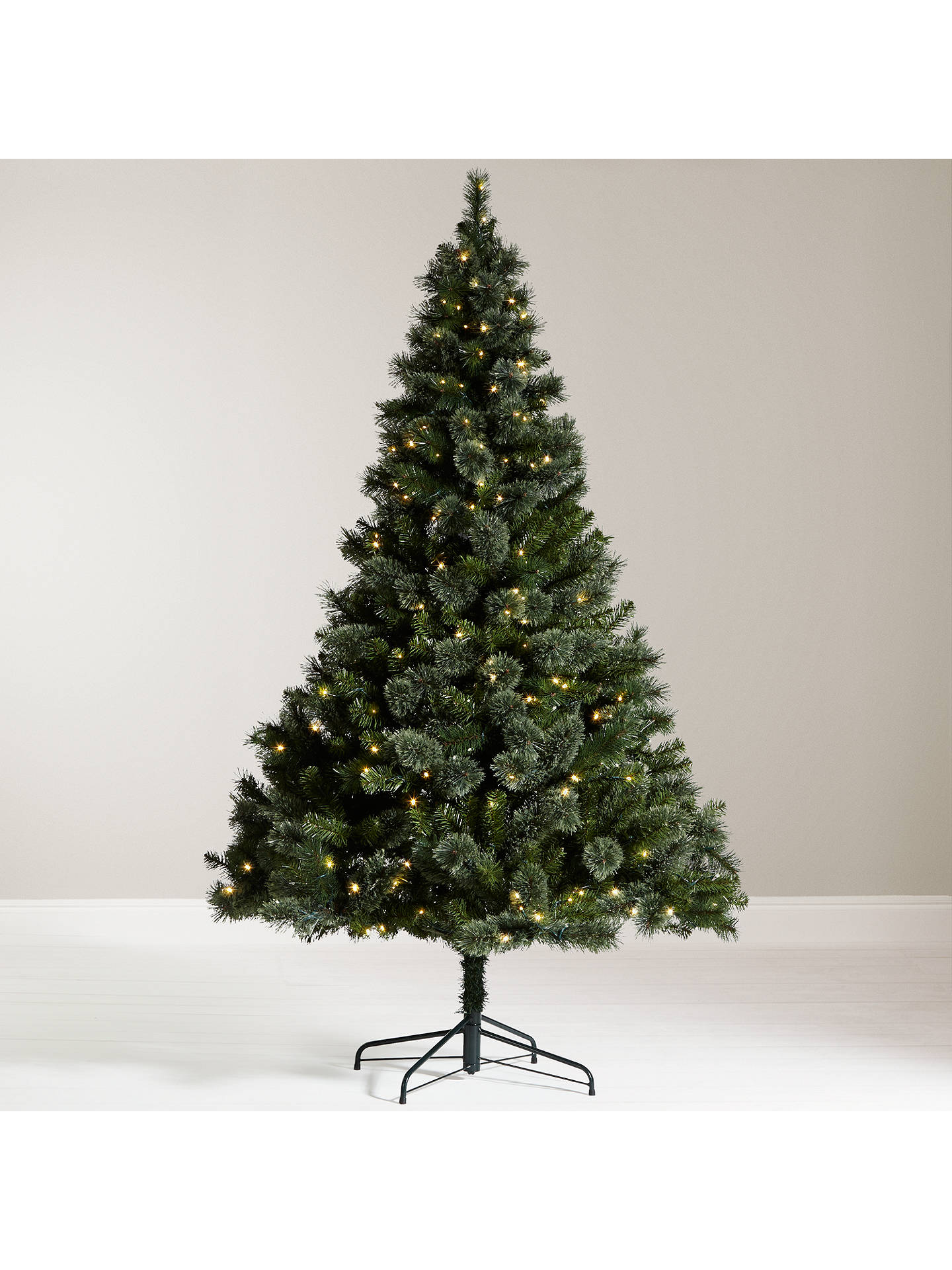 John Lewis Christmas Tree.John Lewis Grand Tour 7ft Kashmir Pre Lit Pine Christmas