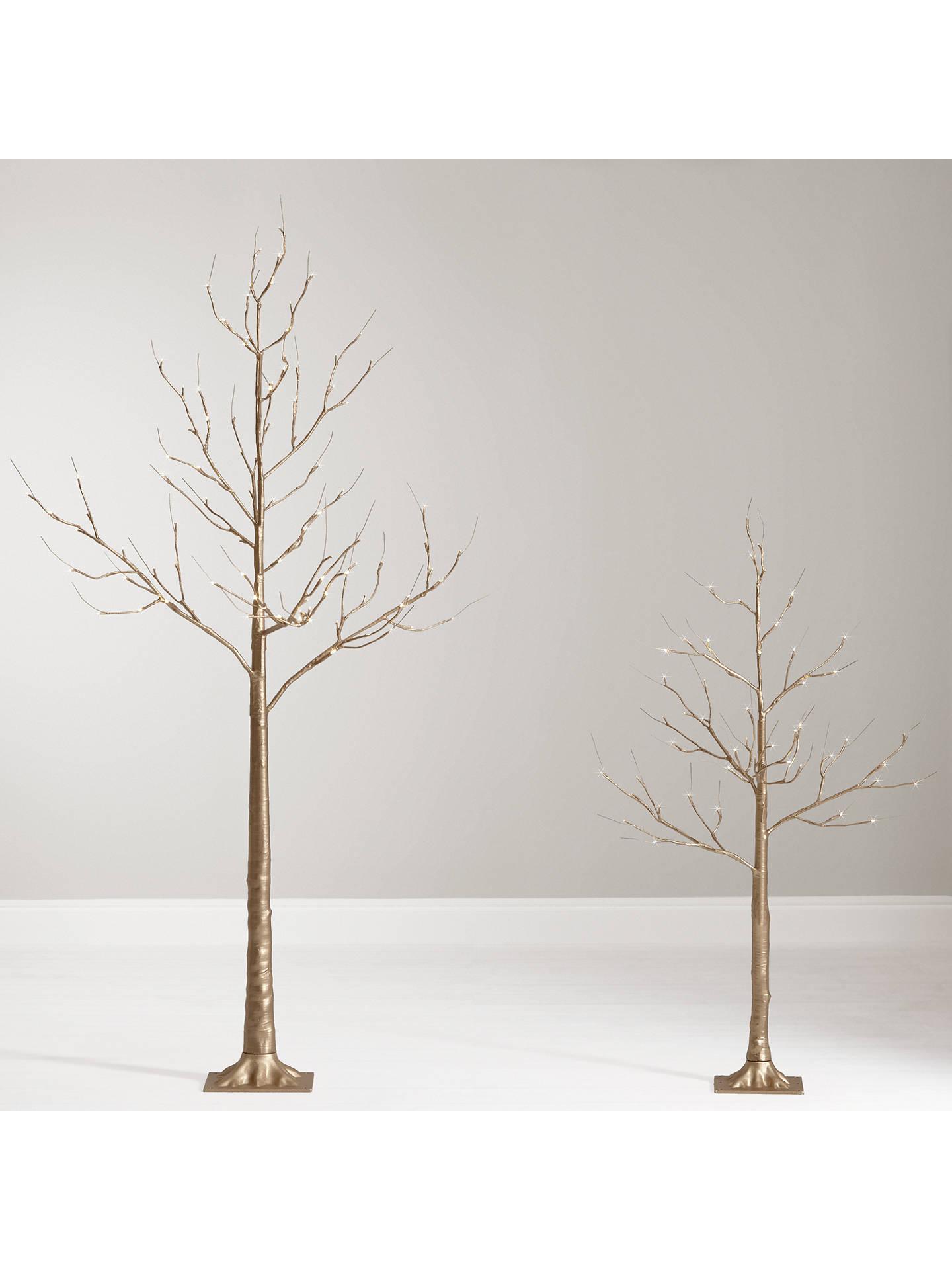 John Lewis 6ft Pre-Lit Golden Twig Christmas Tree at John Lewis & Partners