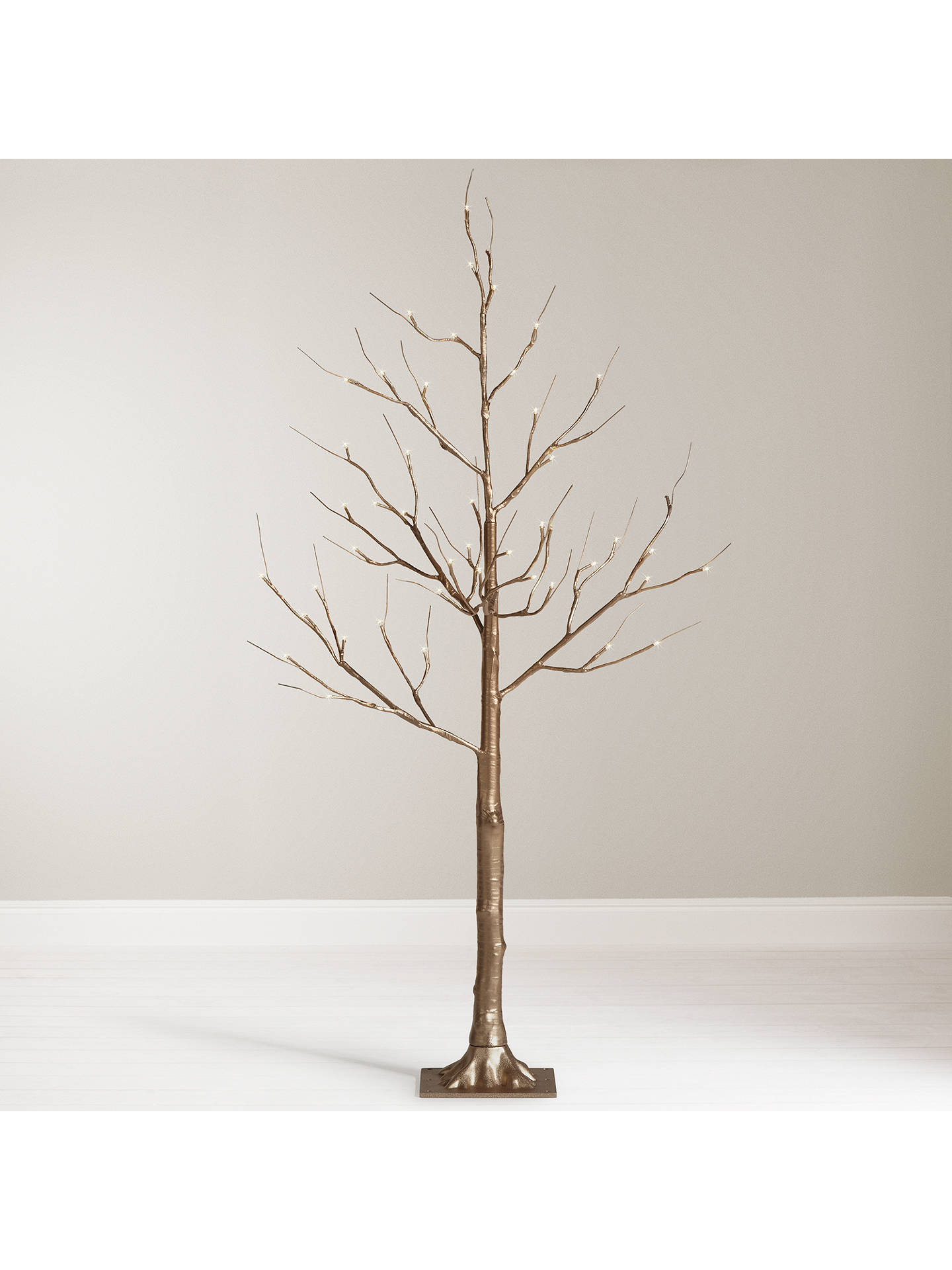 buyjohn lewis 4ft pre lit golden twig christmas tree online at johnlewiscom