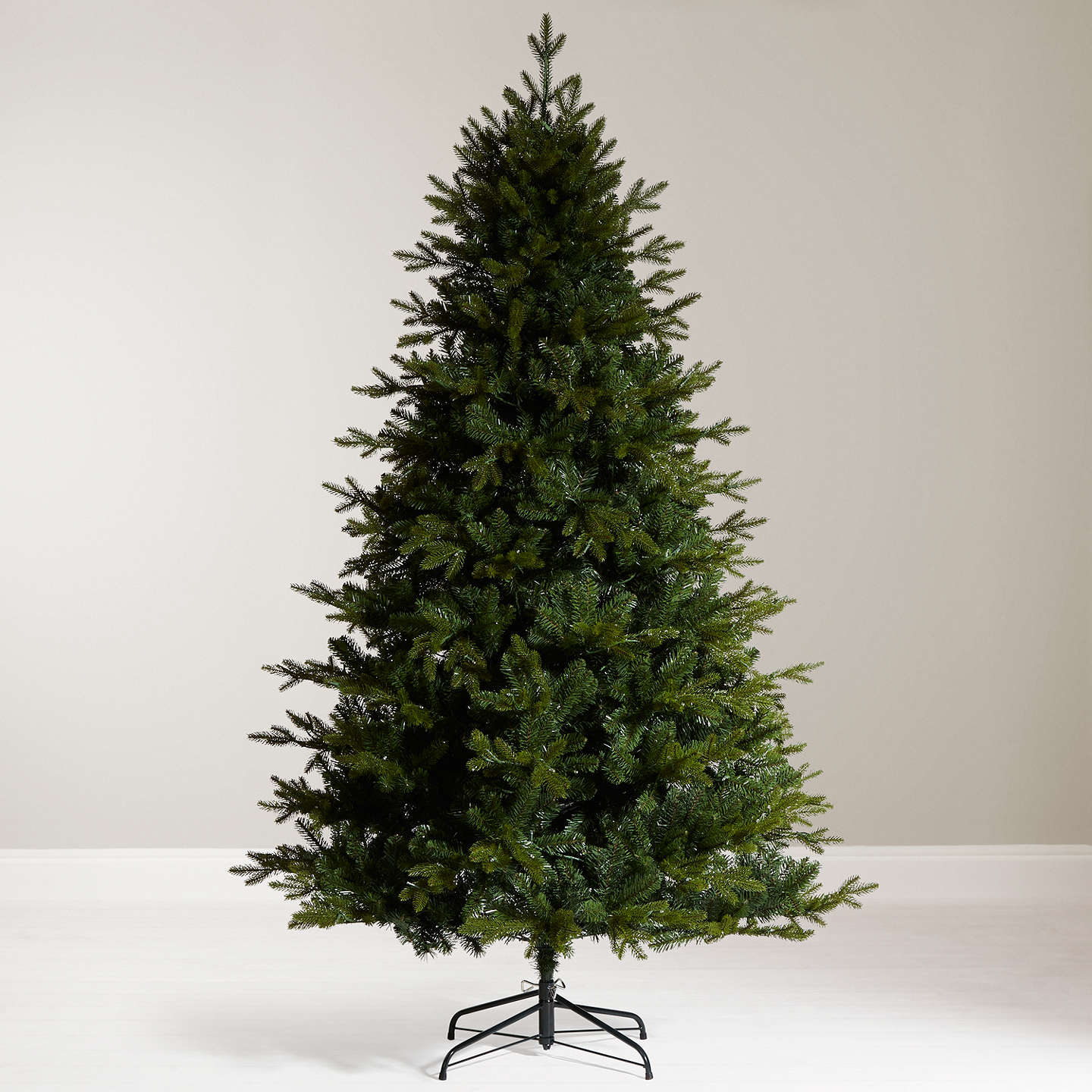 Buyjohn Lewis Kensington Pre Lit Christmas Tree, 7Ft Online At Johnlewiscom