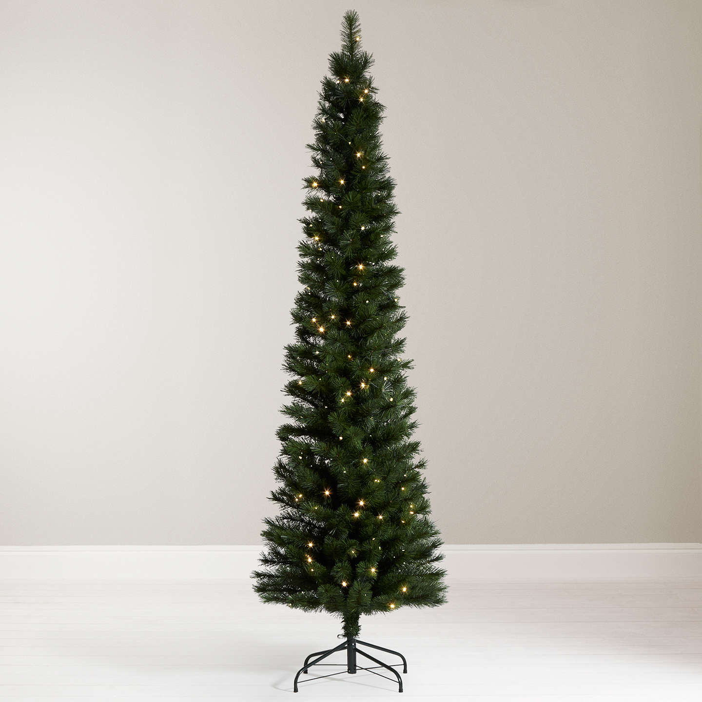 Buyjohn Lewis Pre Lit Pencil Pine Christmas Tree, 7Ft Online At