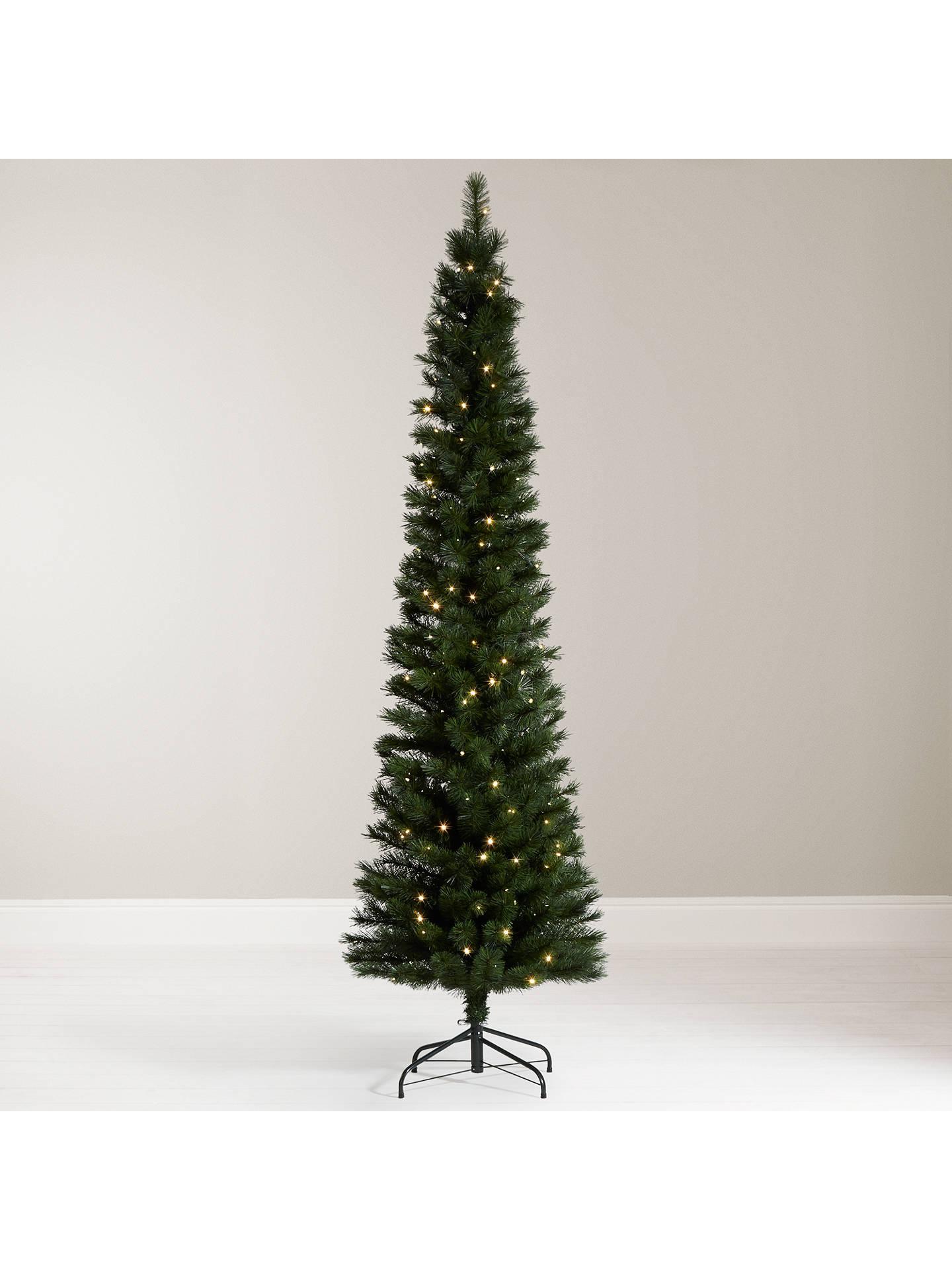 7 Ft Christmas Tree Prelit.John Lewis Pre Lit Pencil Pine Christmas Tree 7ft At John
