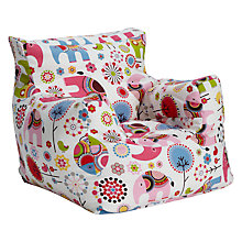 Buy little home at John Lewis Abbey Elephant Bean Bag Chair Online at johnlewis.com