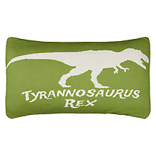 Buy little home at John Lewis Prehistoric Explorer Cushion Online at johnlewis.com