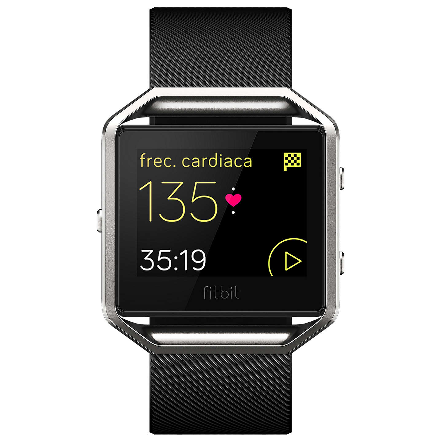 BuyFitbit Blaze Wireless Activity and Sleep Tracking Smart Fitness Watch, Small, Black Online at johnlewis.com