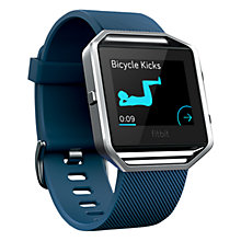 Buy Fitbit Blaze Wireless Activity and Sleep Tracking Smart Fitness Watch, Large Online at johnlewis.com