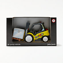 Buy John Lewis Air Pump Vehicle Fork Lift Truck Online at johnlewis.com