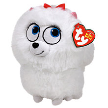 Buy Ty Beanie The Secret Life of Pets Gidget Soft Toy, 14cm Online at johnlewis.com