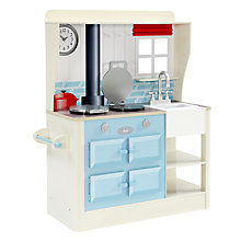 Buy Plum Farmhouse Wooden Role Play Kitchen Online at johnlewis.com