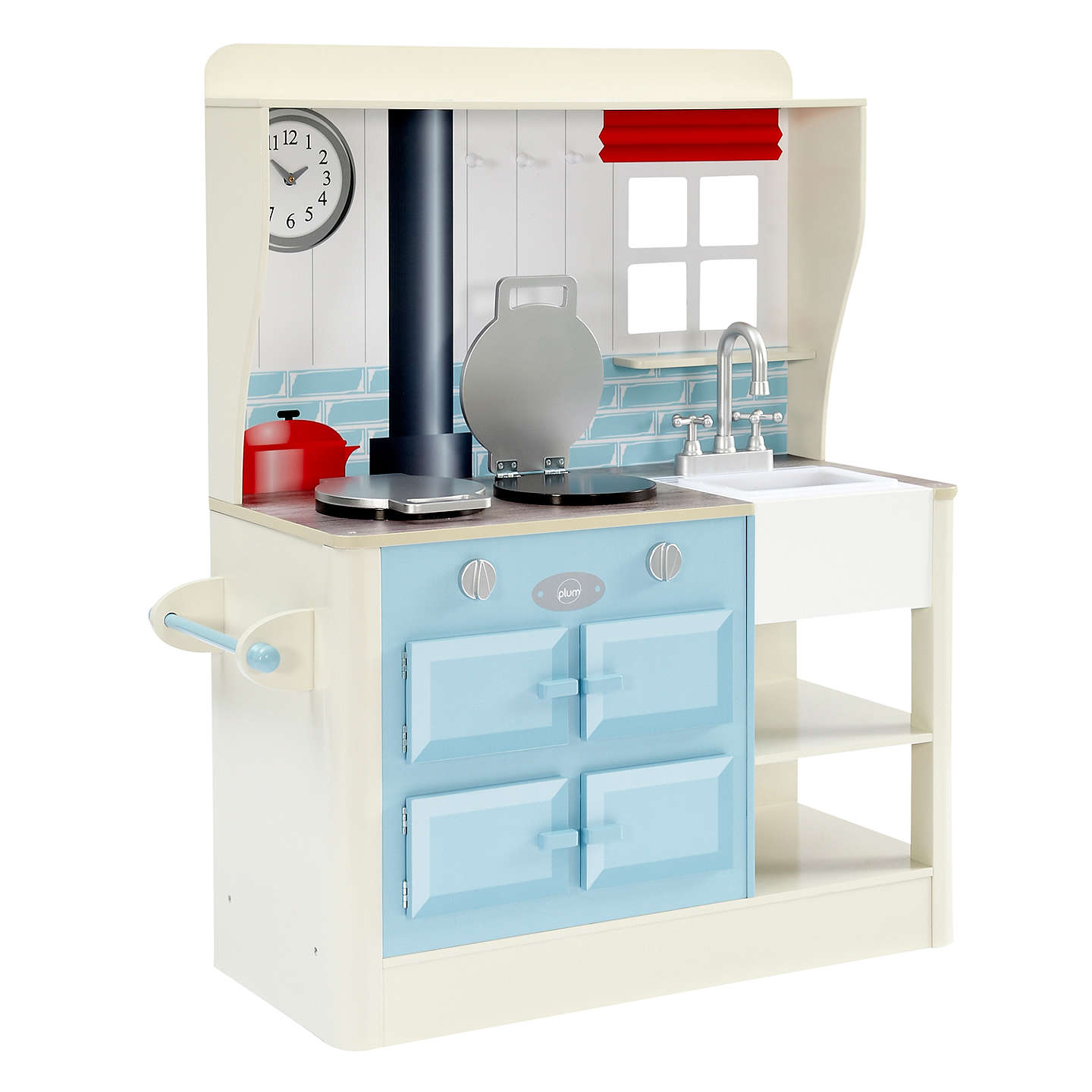 Plum Farmhouse Wooden Role Play Kitchen at John Lewis