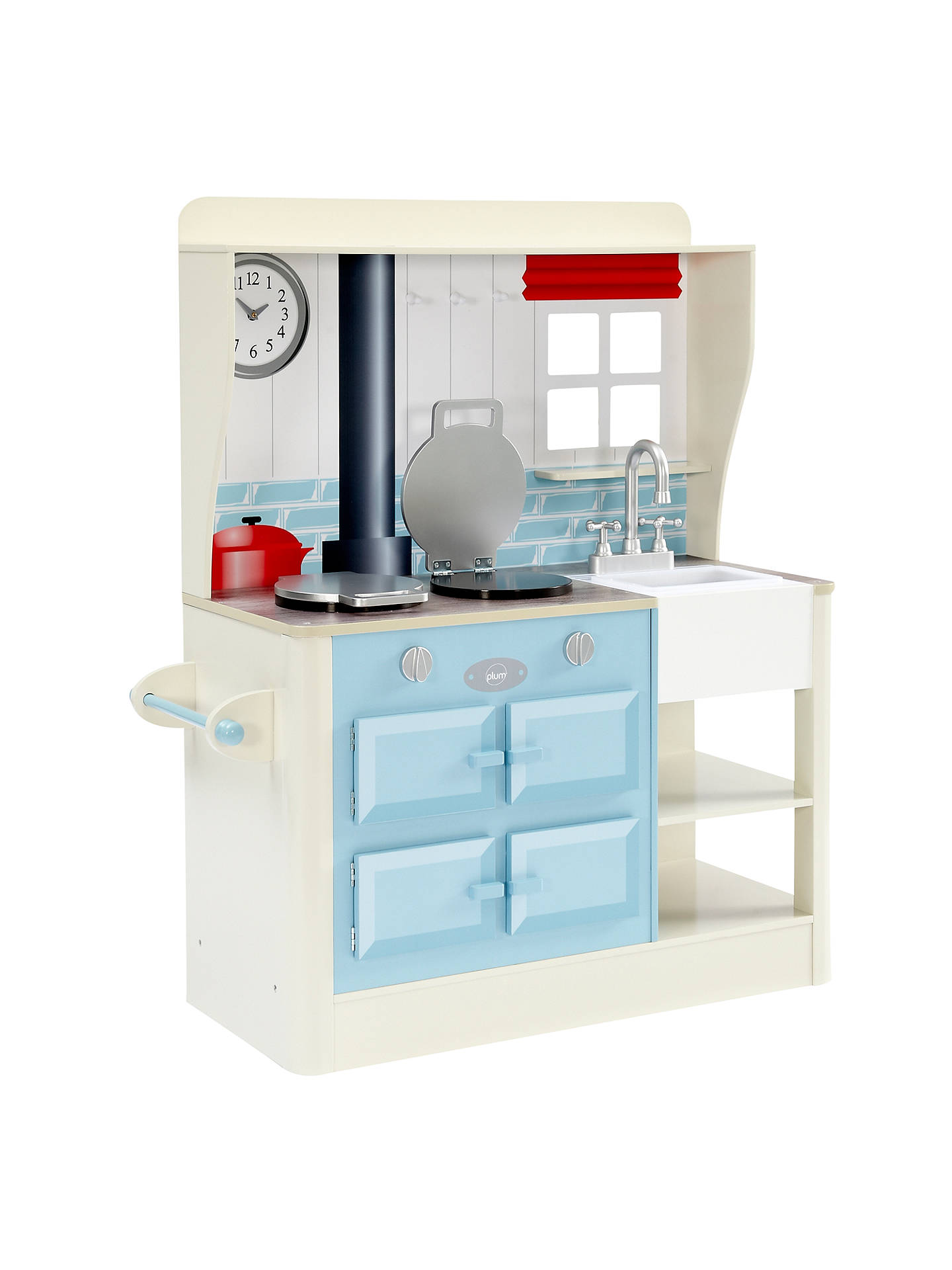 Plum Farmhouse Wooden Role Play Kitchen at John Lewis & Partners