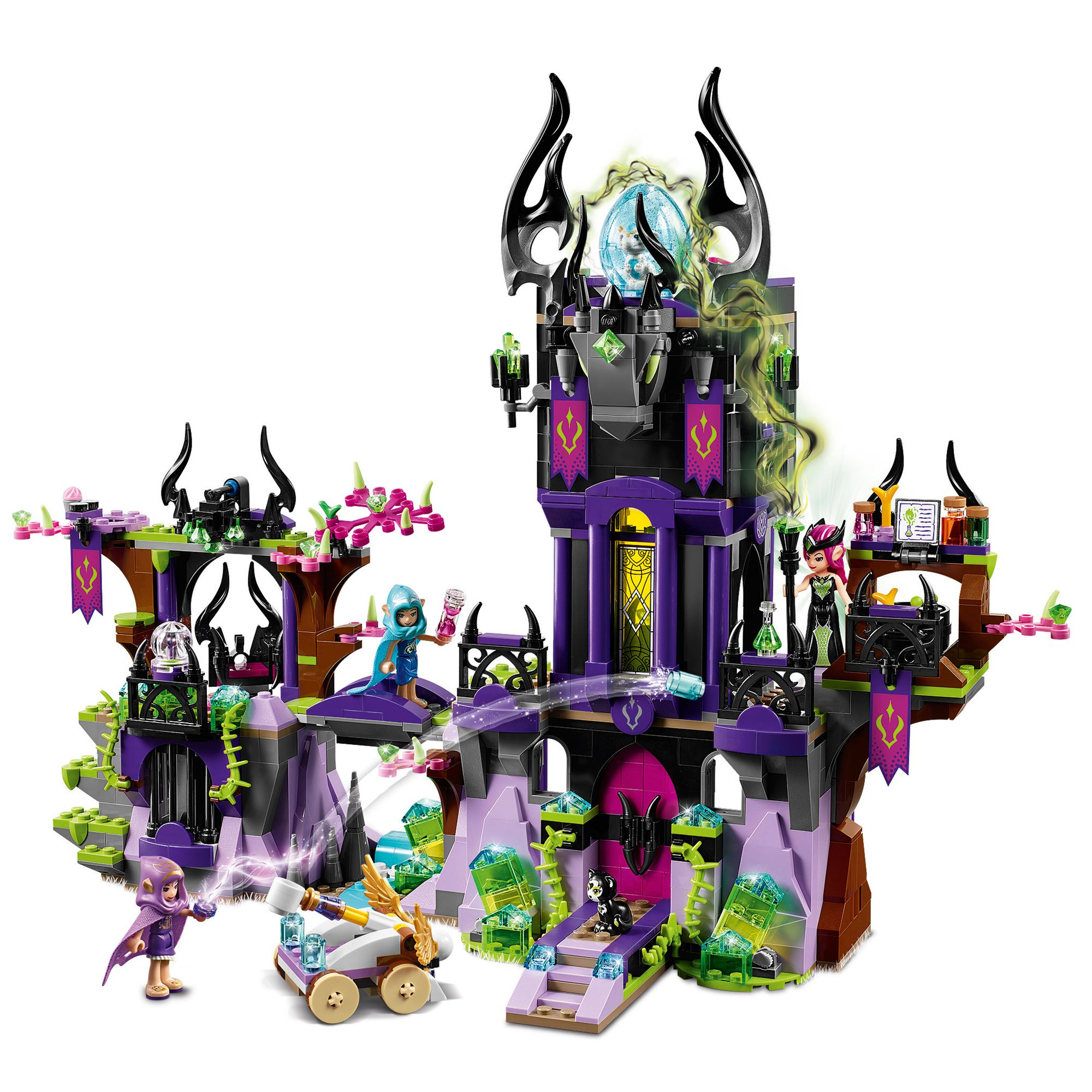 LEGO Elves 41180 Ragana's Magic Shadow Castle at John Lewis & Partners