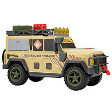 Buy John Lewis Safari Truck Toy Online at johnlewis.com
