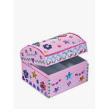 Buy John Lewis Decorate Your Own Jewellery Box Online at johnlewis.com