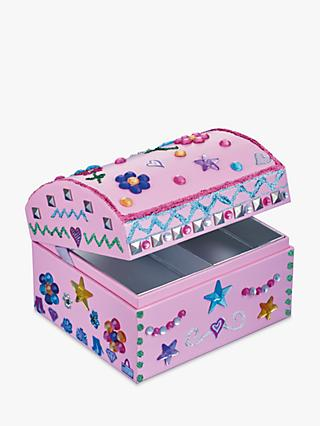 John Lewis & Partners Decorate Your Own Jewellery Box