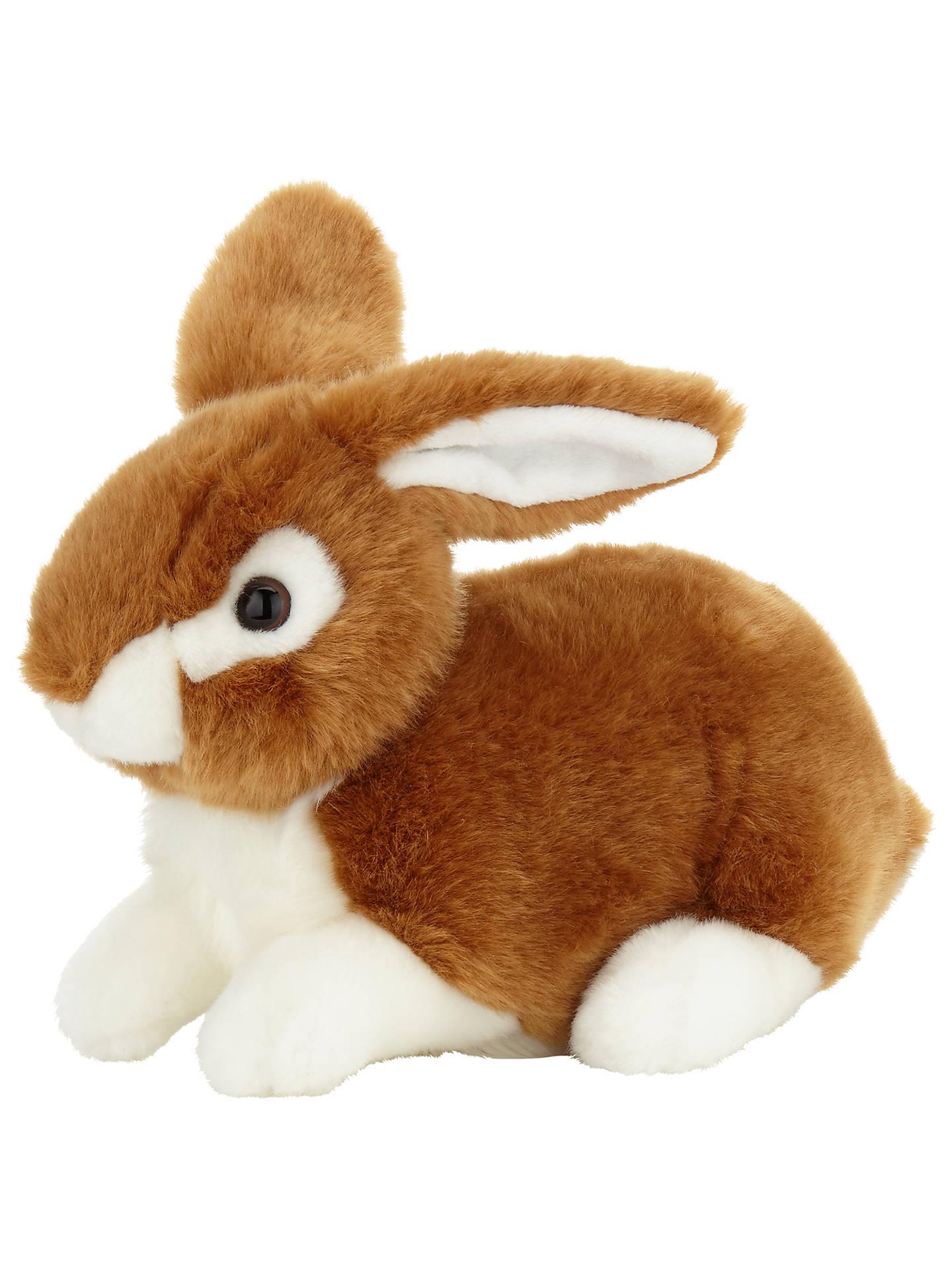 John Lewis & Partners Bunny Rabbit Plush Soft Toy at John ...