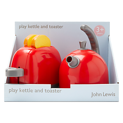 John Lewis Play Kettle and Toaster