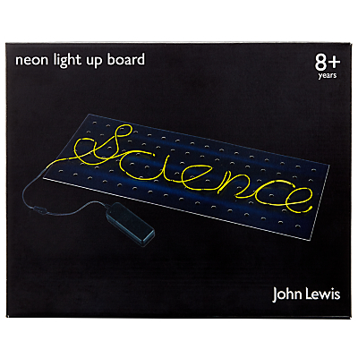 Image of John Lewis & Partners Neon Light Up Board