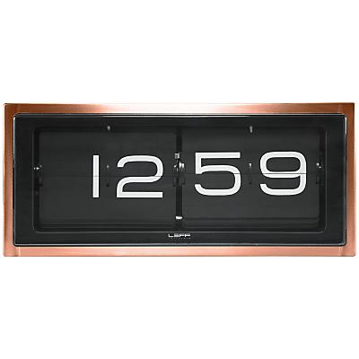 LEFF Amsterdam 24 Hour Brick Clock by Erwin Termaat