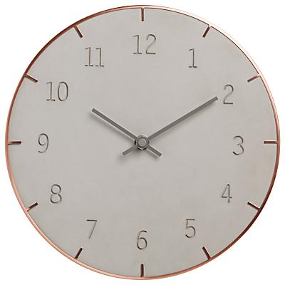 Umbra Piatto Conrete Wall Clock