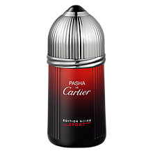 Buy Cartier Pasha de Cartier Edition Noire Sport Eau de Toilette Online at johnlewis.com