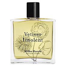 Buy Miller Harris Vetivert Insolent Eau de Parfum Online at johnlewis.com