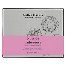 Buy Miller Harris Noix de Tubéreuse Travel Refills, 3 x 9ml Online at johnlewis.com