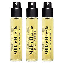 Buy Miller Harris Coeur de Jardin Travel Refills, 3 x 9ml Online at johnlewis.com