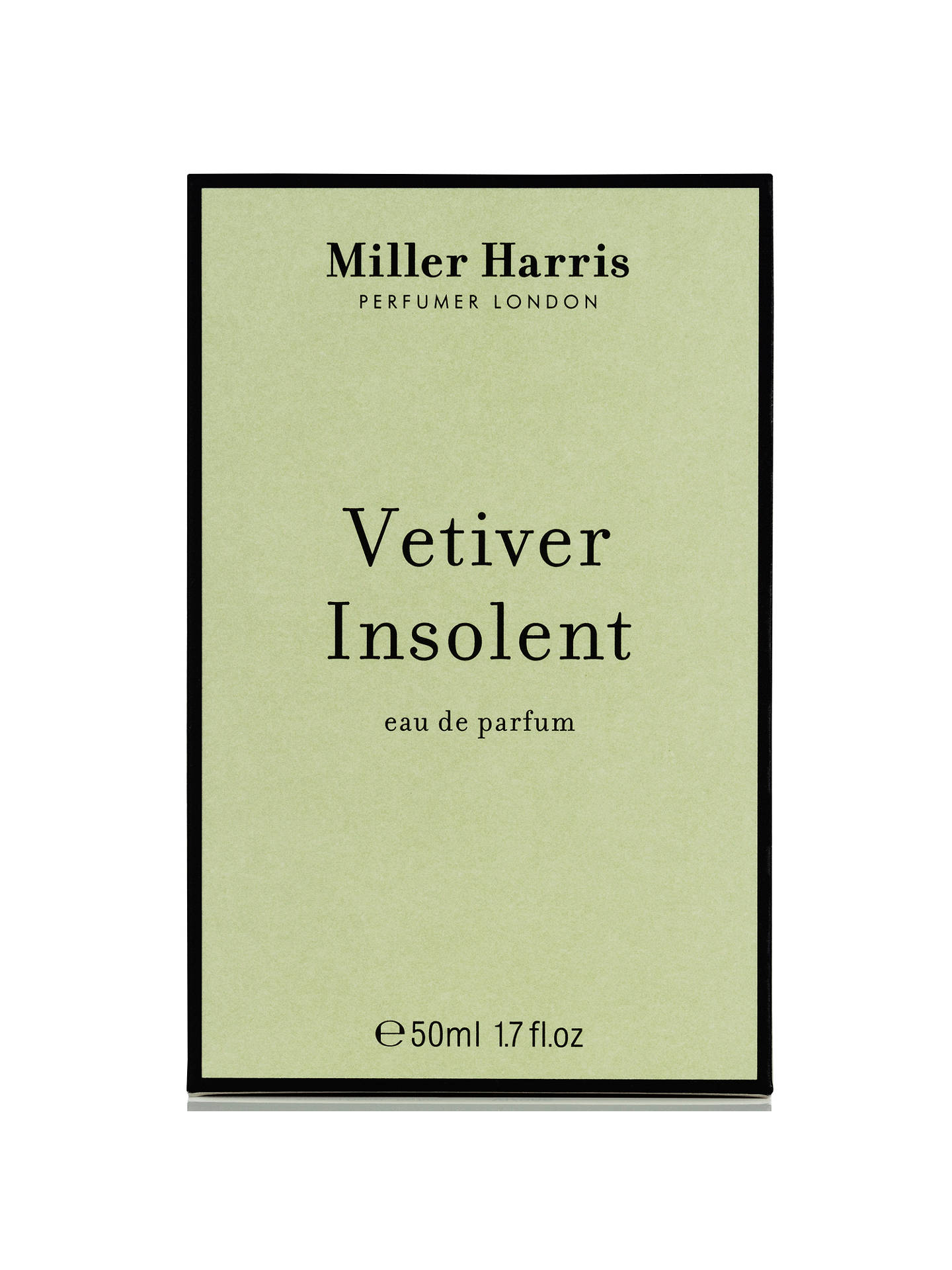 BuyMiller Harris Vetivert Insolent Eau de Parfum, 50ml Online at johnlewis.com