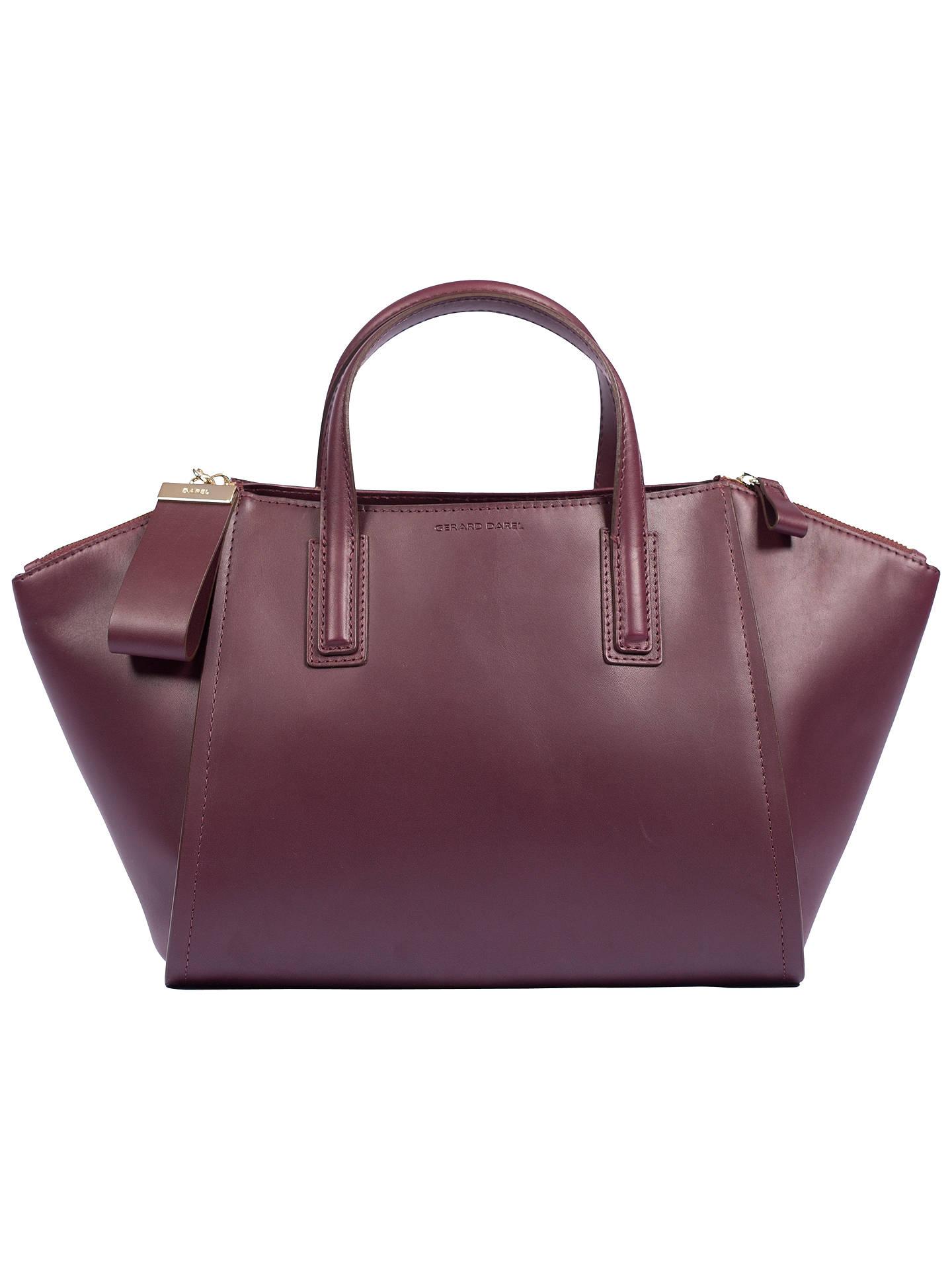 Gerard Darel Le Visconti Bag Dark Red