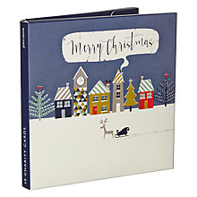 Buy John Lewis Deer & Sleigh Charity Christmas Cards, Pack of 10 Online at johnlewis.com
