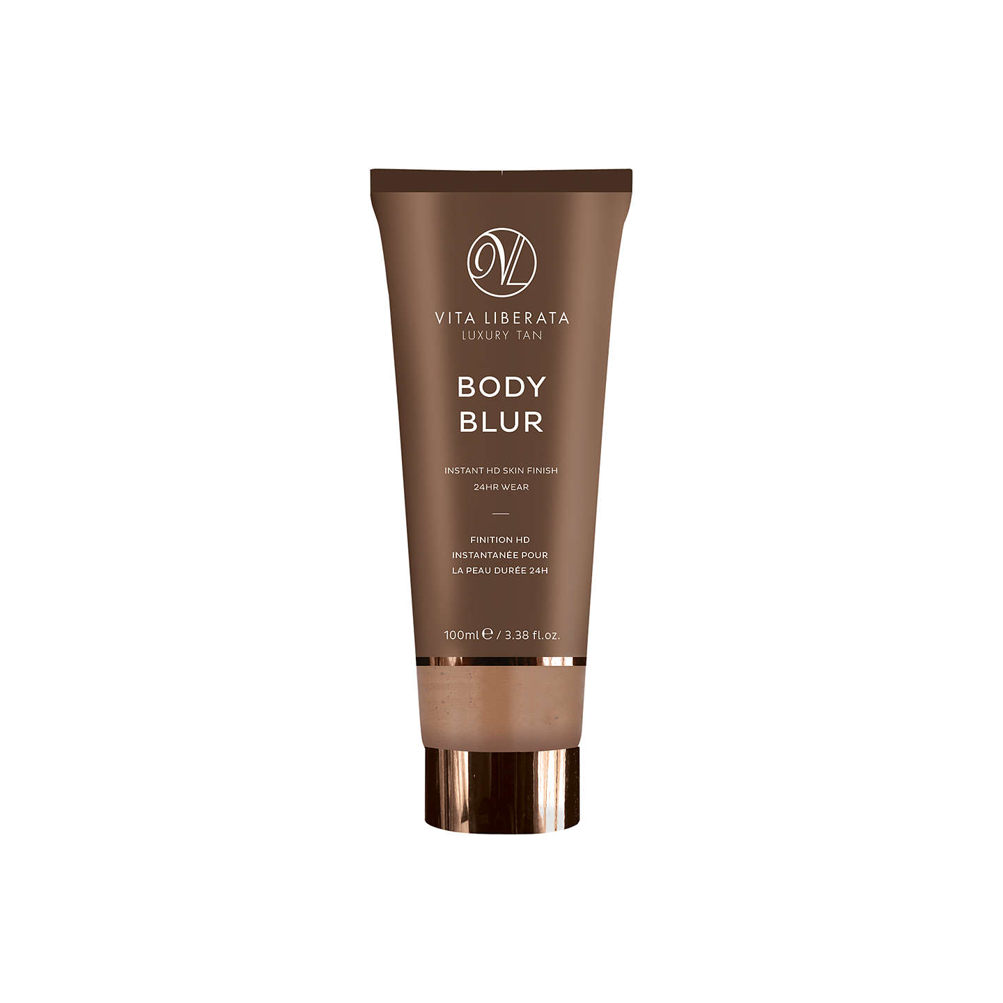BuyVita Liberata Body Blur Instant HD Skin Finish, 100ml, Latte Online at johnlewis.com